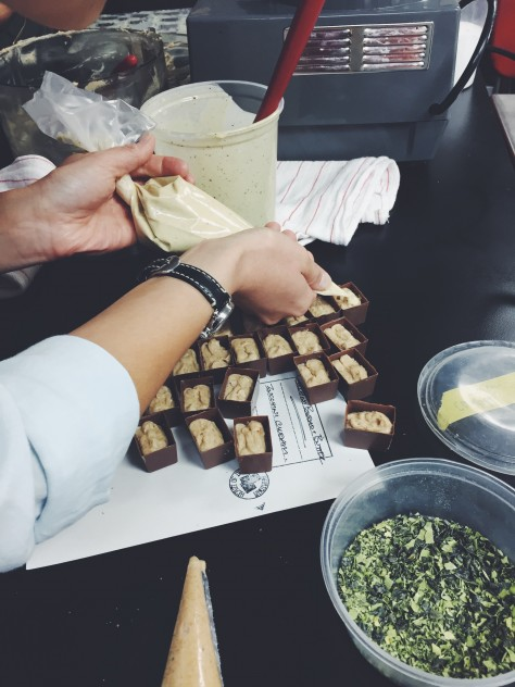 Bon Bon Bon Chocolate Making Class in Hamtramck, Michigan  // @nicoledula