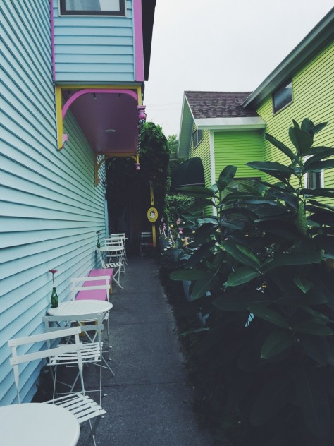 Little Bee's Italian Ice in Sutton's Bay, Michigan // @nicoledula