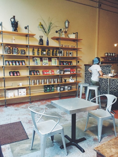 Higher Grounds Coffee in Traverse City, Michigan // @nicoledula