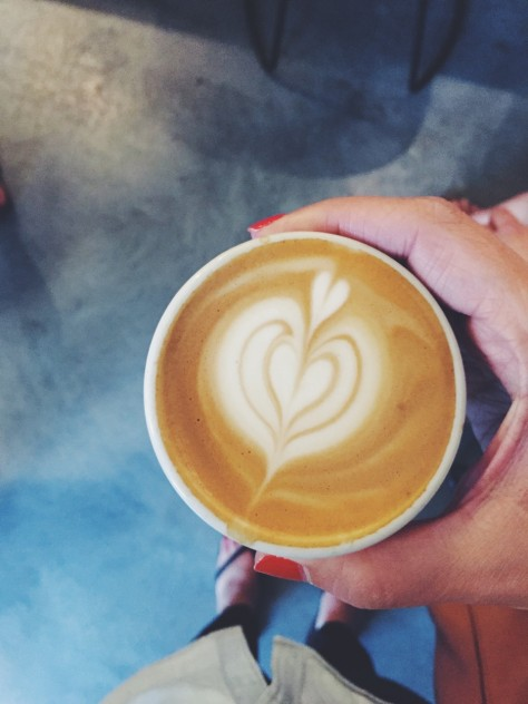 Latte Art Throwdown at Blk/Mrkt Coffee in Traverse City // @nicoledula