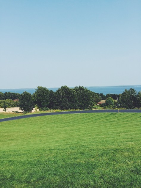 View From 2 Lads Winery in Traverse City, Michigan // @nicoledula