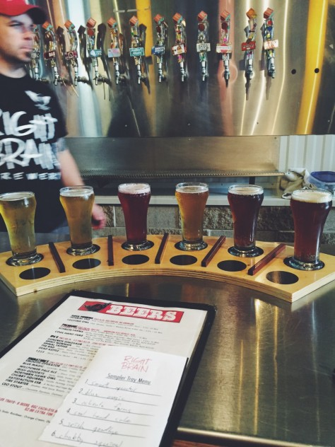 Right Brain Brewery in Traverse City, Michigan // @nicoledula