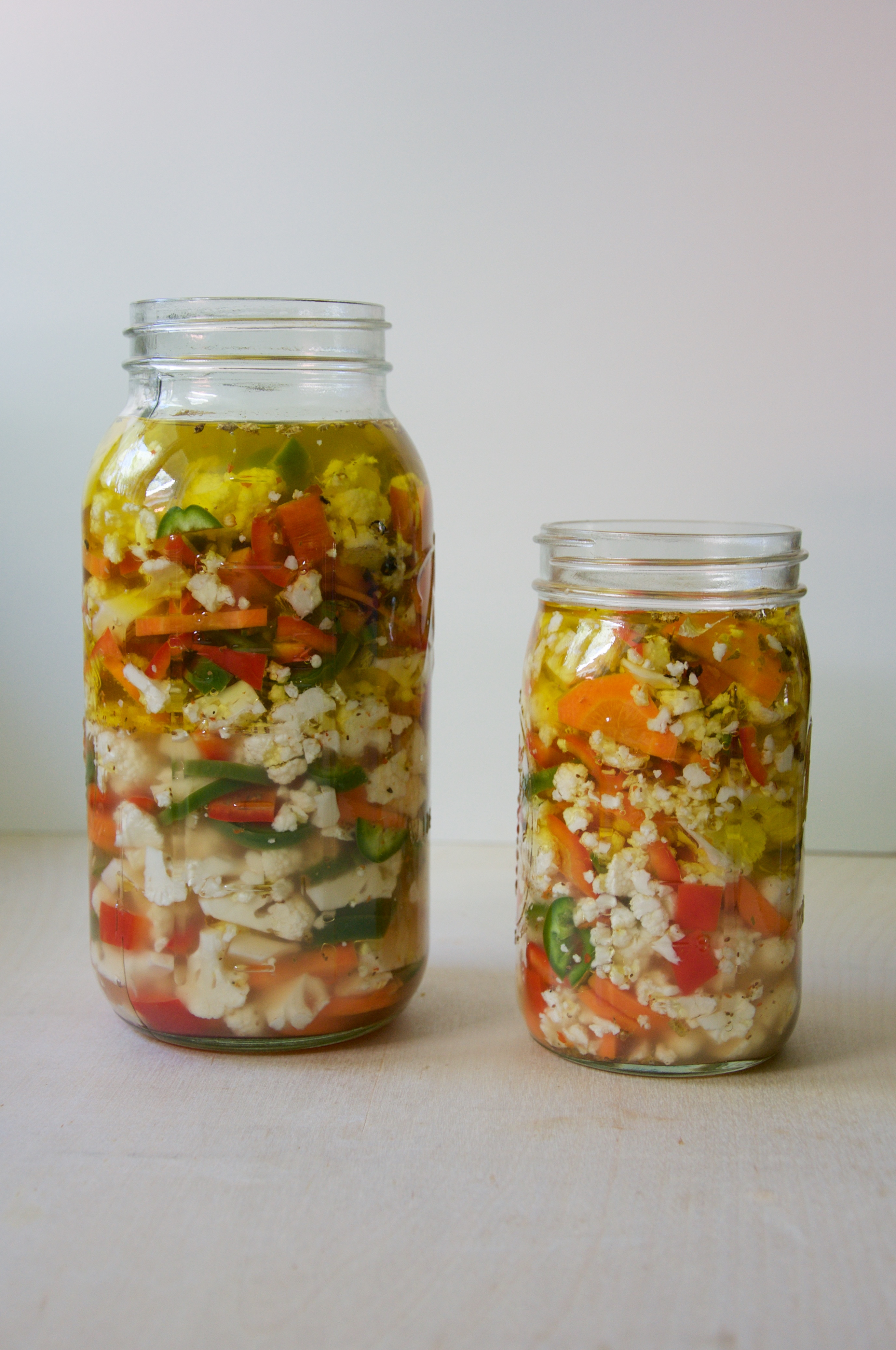 Pickled Giardiniera Recipe // @nicoledula