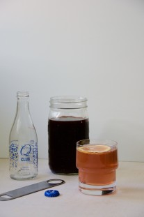 Concord Grape + Balsamic Shrub Recipe // @nicoledula