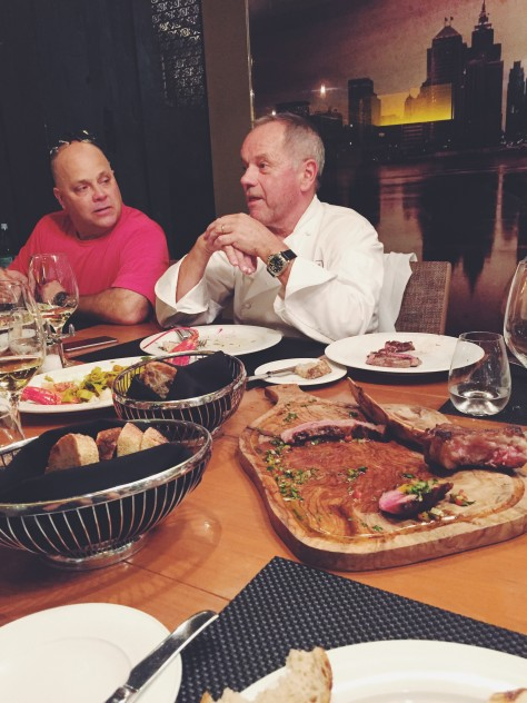 Lunch with Wolfgang Puck at MGM Grand Detroit @nicoledula