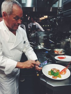 Lunch with Wolfgang Puck at The MGM Grand Detroit // @nicoledula
