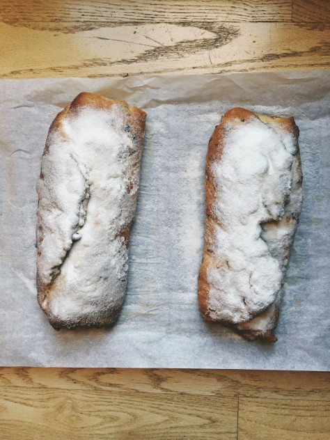 German Christmas Stollen 2015 Recipe // @nicoledula