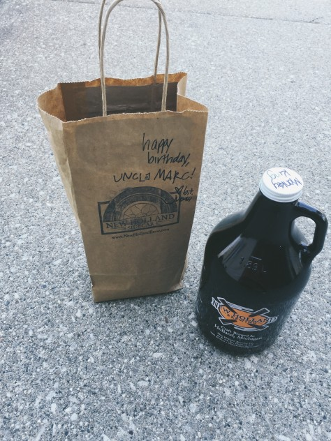 Winter Snapshots - New Holland Brewery Goods // @nicoledula