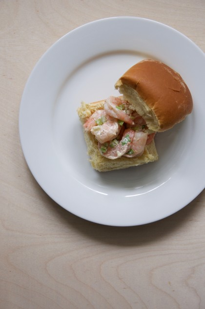 Shrimp Salad Recipe // @nicoledula