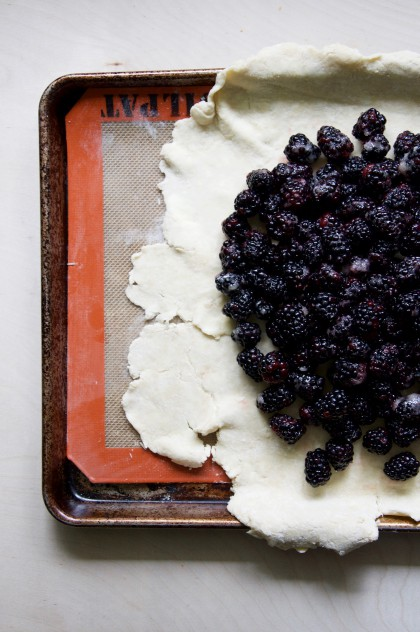 Blackberry Galette Recipe // @nicoledua