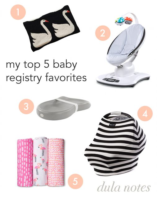 Nicole Dula's Top 5 Baby Registry Favorites // @NicoleDula
